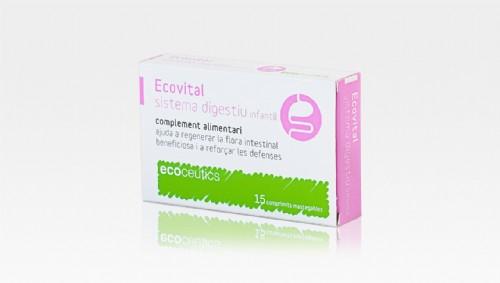 Ecovital sistema digestivo inf 15 caps