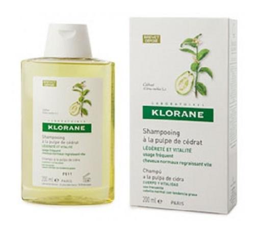 Klorane champu a la pulpa de cidra (200 ml)