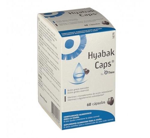 Hyabak (60 capsulas)