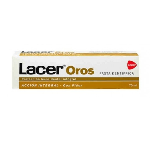 Lacer oros 2500 pasta dental (75 ml)