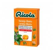 Caramelo ricola naranja-menta 50 g