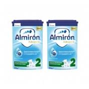 Almiron advance+ pronutra 2 (polvo pack ahorro 50% 800 g 2 u)