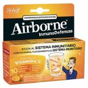 Airborne (inmunodefensas) comp efervescentes (naranja 10 comprimidos)