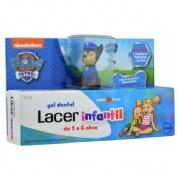 Lacer infantil gel dental (75 ml fresa)