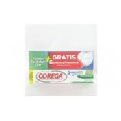 Corega crema extra fuerte sin sabor - adhesivo protesis dental (70 g)
