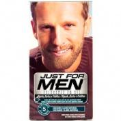 Just for men bigote y barba - gel colorante (30 cc castaño claro)