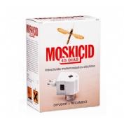 Moskicid 45 dias electrico - matamosquitos plaguicida (difusor + recambio)