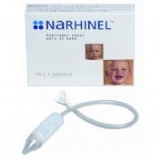 Narhinel aspirador nasal bebe (1 u+ 3 recambios)