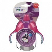 Vaso boquilla - philips avent (260 ml rosa)