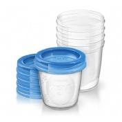 Recipientes via para leche materna - philips avent (5 vasos)