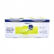 Resource aqua + gelificada (125 g  4 tarrinas manzana y pera)